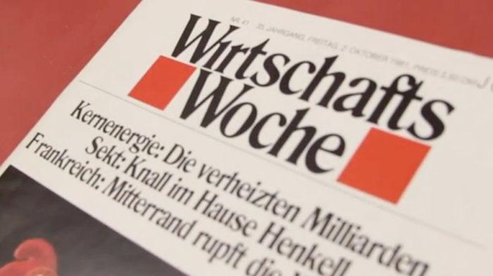 WirtschaftsWoche – Logo von Milton Glaser